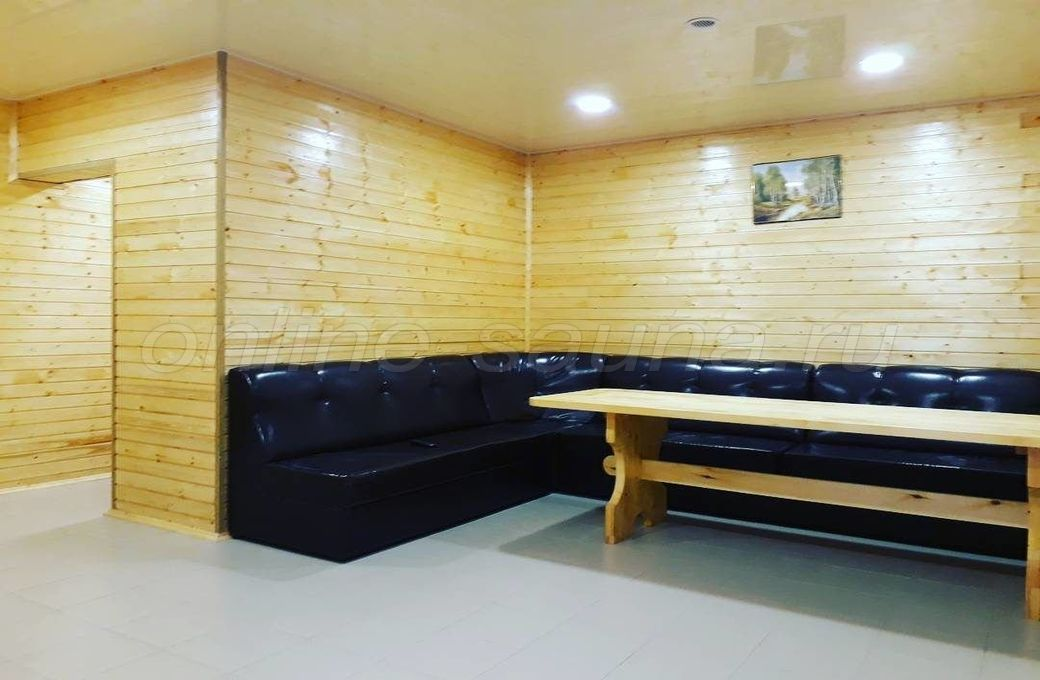 В Прибое, баня